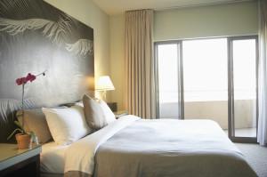Empty Hotel Room