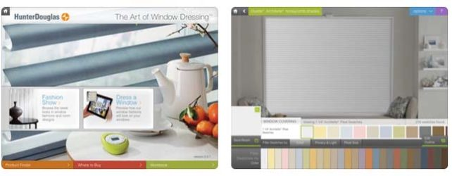 Design Tools From Hunter Douglas Window Fashions